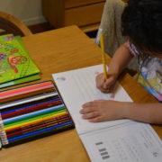 ヤマハの宿題やってます。