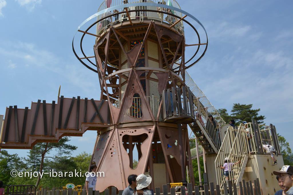 笠間芸術の森公園 あそびの杜 ローラースライダー