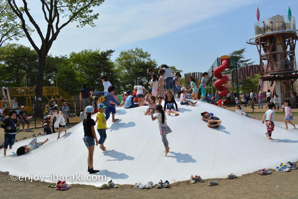 笠間芸術の杜公園 あそびの杜 ふわふわドーム
