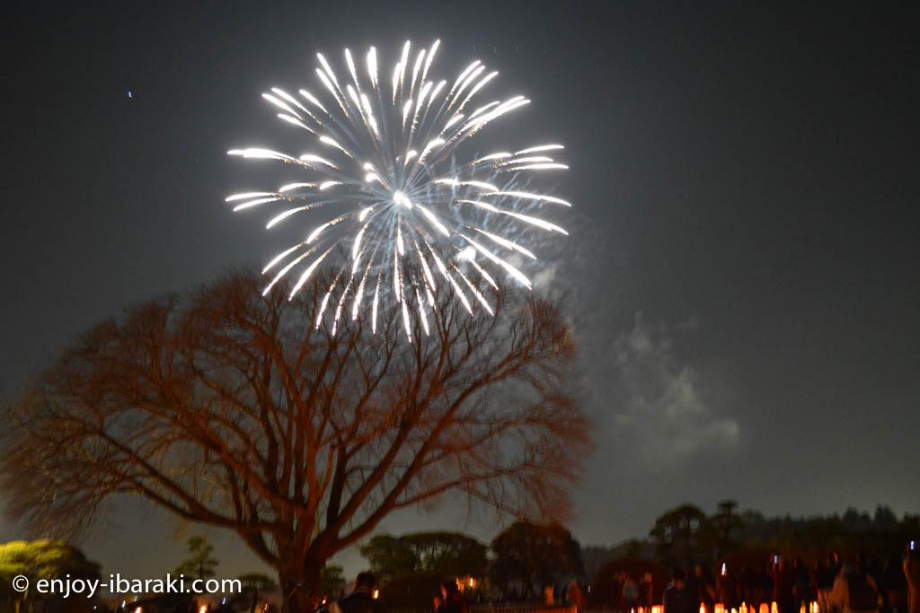 夜梅祭の花火