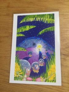 最後に頂いたポストカード