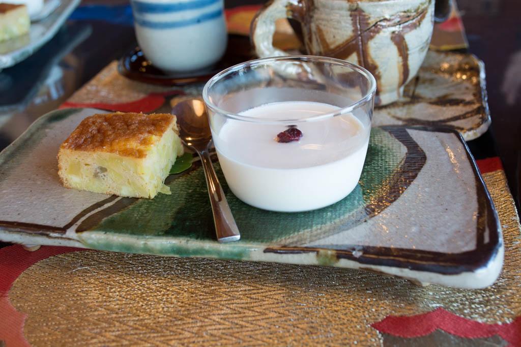 ギャラリー月カフェのデザート