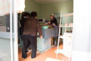 鉾田のパン屋さん青りんごの店内