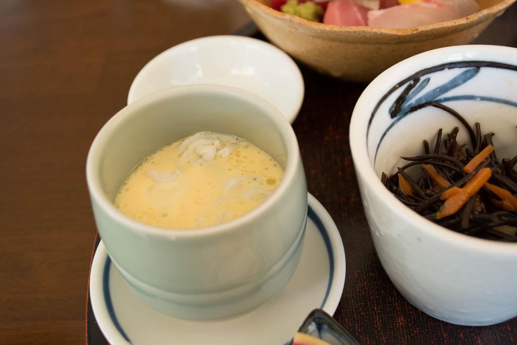 井中膳の茶碗蒸し
