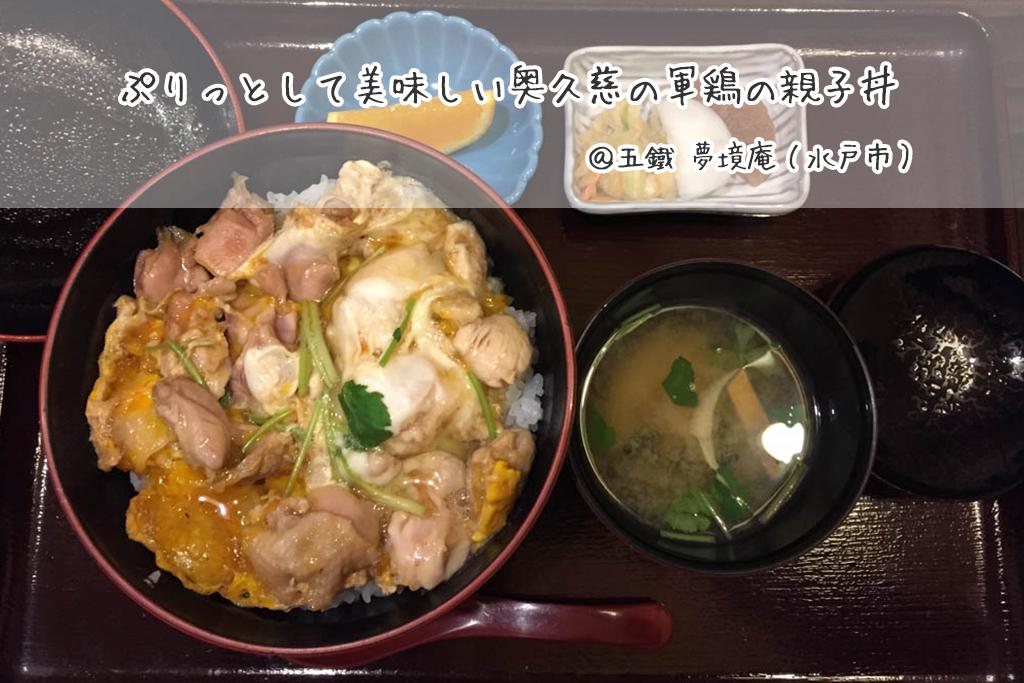 五鐵 夢境庵の親子丼