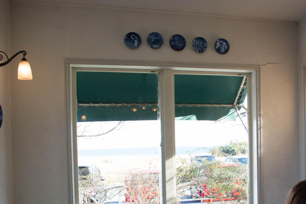大洗ヌーボーは海が見えるんです。