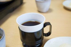 ひたち家最後の締めはコーヒー