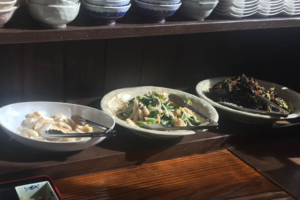 さくら亭のお惣菜バイキング