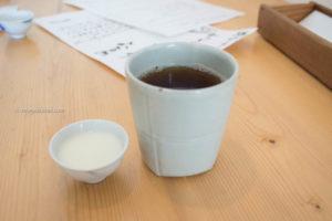 ちどりのランチ〜ほうじ茶と豆乳