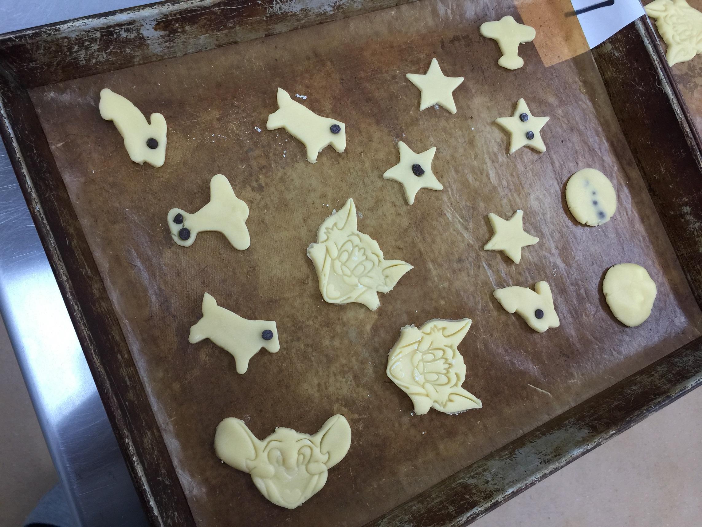 クッキー成形