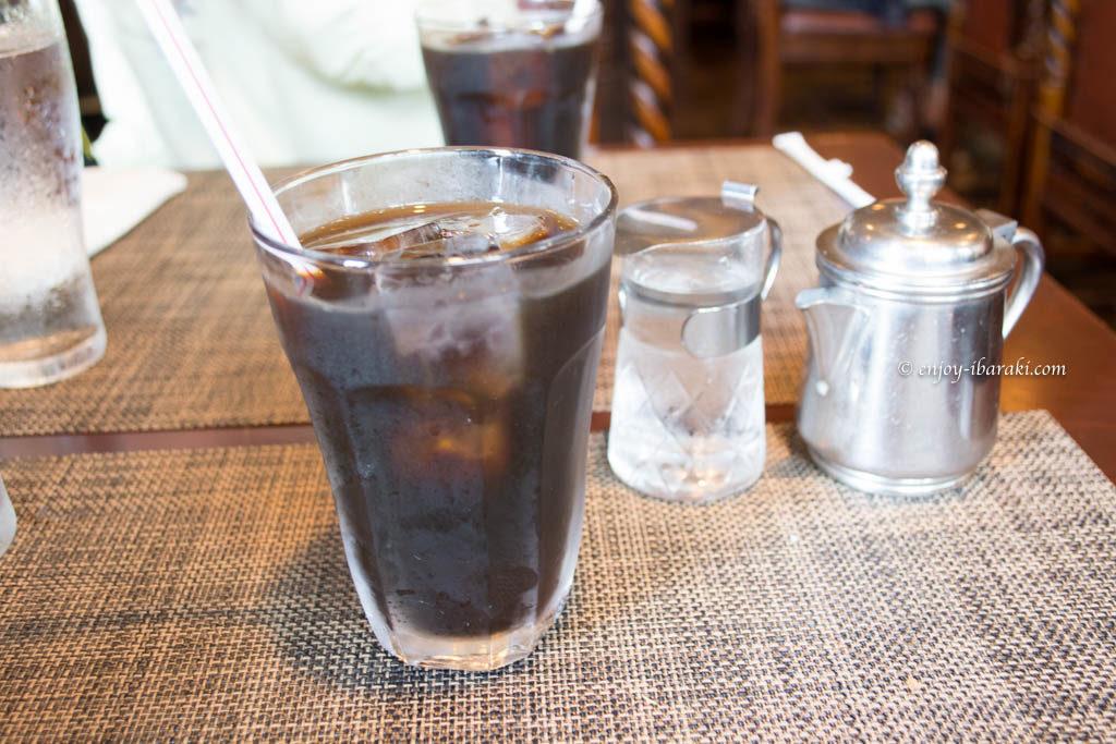 ビストロババのアイスコーヒー