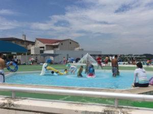 涸沼の幼児用プール