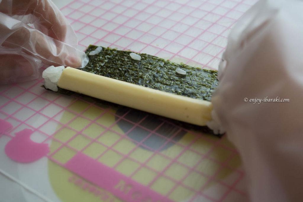 松石さやかさんの飾り巻き寿司&お菓子教室