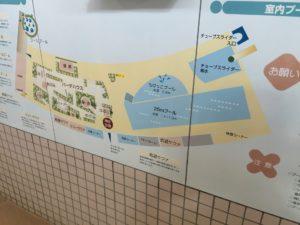 プール配置図