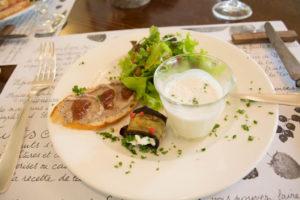 ラヴィプロヴァンソ9月の前菜